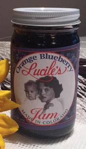 Lucile's Orange Blueberry Jam