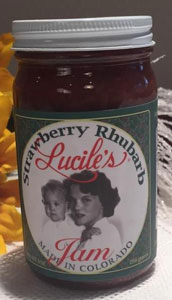Lucile's Strawberry Rhubarb Jam